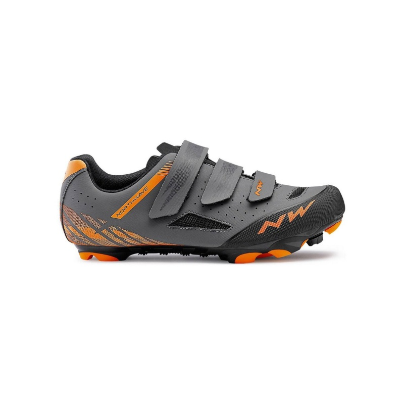 Chaussures VTT Northwave Origin Plus Anthracite/Orange 2019