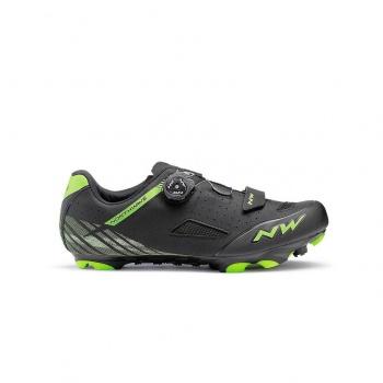 Chaussures VTT Northwave Origin Plus Noir/Jaune Fluo 2019