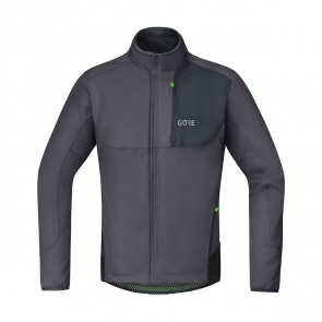 Gore Bike Wear Veste Gore Wear C5 Windstopper Thermo Trail Gris Terra/Noir 2018-2019