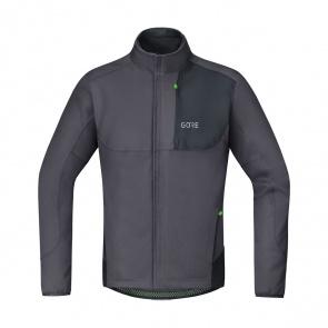 Gore Bike Wear Veste Gore Wear C5 Windstopper Thermo Trail Gris Terra/Noir 2019-2020