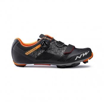 Chaussures VTT Northwave Razer Noir/Forest/Orange 2019