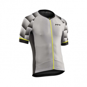 Northwave Maillot Manches Courtes Northwave Storm Air Gris 2019