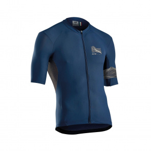 Northwave Maillot Manches Courtes Northwave Extreme 3 Bleu 2019