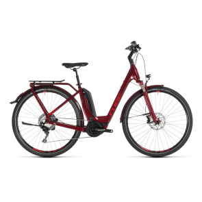 Cube - Promo Cube Touring Hybrid EXC 500 Easy Entry Elektrische Fiets Donkerrood 2019 (231210)