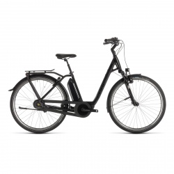 Cube - Promo Vélo Electrique Cube Town Hybrid EXC 500 Easy Entry Black Edition 2019 (232201)