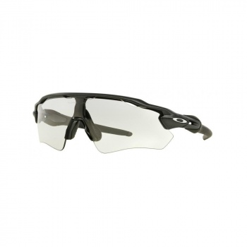 Oakley Radar EV Advancer Bril  Mat Zwart - Clear - Zwart Photochromisch
