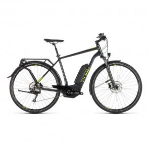 Cube - Promo Vélo Electrique Cube Kathmandu Hybrid Pro 500 Iridium/Vert 2019 (231300)