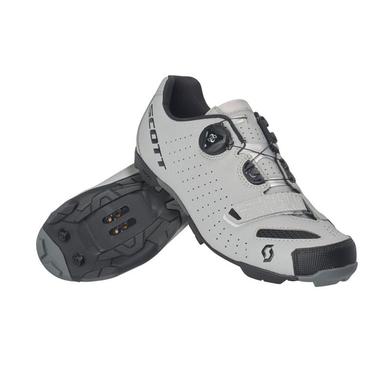 Chaussures VTT Scott Comp Boa Noir Réfléchissant 2019