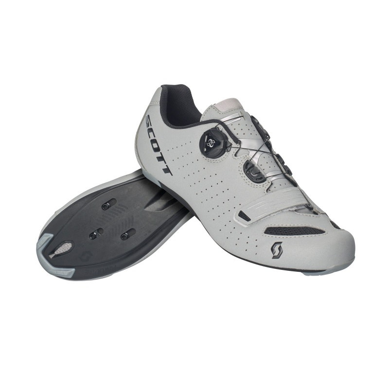 Chaussures Route Scott Comp Boa Noir Réfléchissant 2021