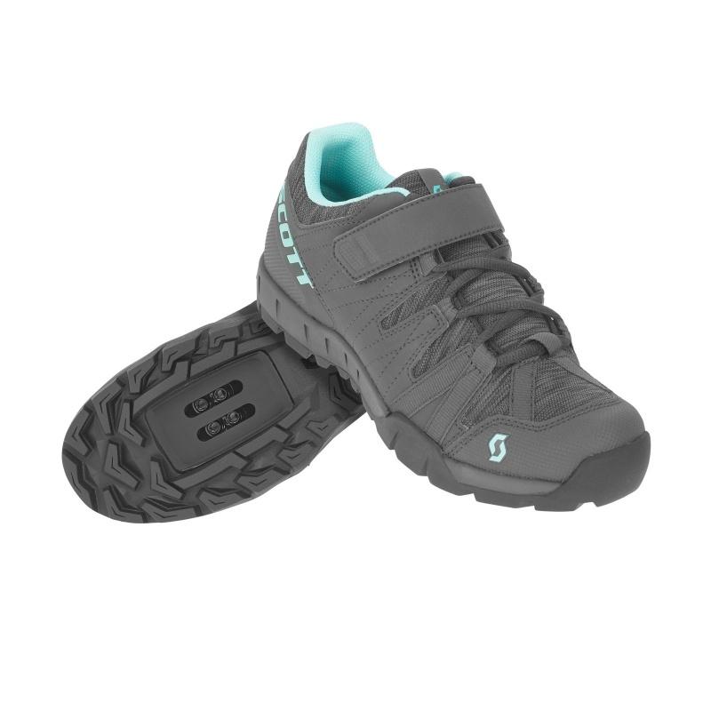 Chaussures Sport Femme Scott Trail Gris Foncé/Turquoise 2019