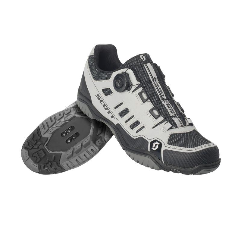 Chaussures Sport Scott Crus-r Boa Noir Réfléchissant 2019