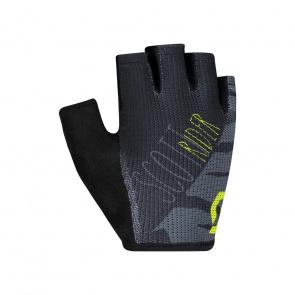 Scott textile Scott Aspect Sport Korte Handschoenen voor Kinderen Zwart/Sulphur Geel 2019
