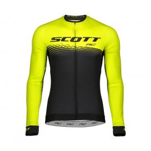 Scott textile Scott RC Pro Shirt met Lange Mouwen Sulphur Geel/Zwart 2019