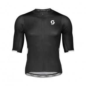 Scott textile Scott RC Premium Shirt met Korte Mouwen Zwart/Wit 2019