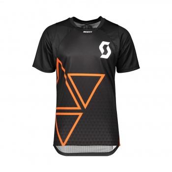 Scott Trail Vertic Shirt met Korte Mouwen Zwart 2019