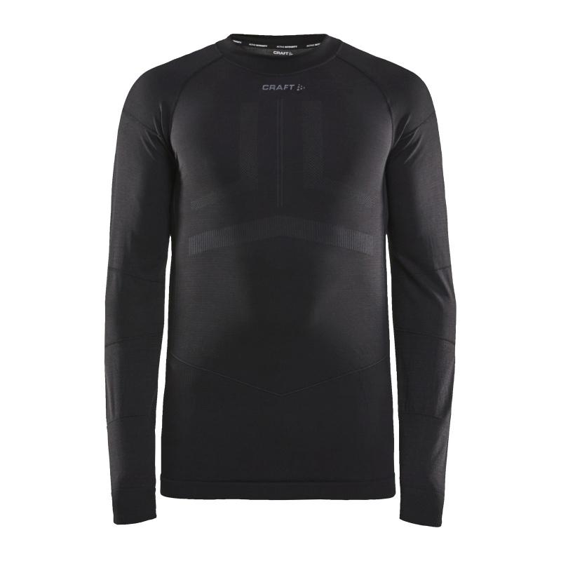Craft Intensity Ondershirt met Lange Mouwen Zwart/Asfalt 2020
