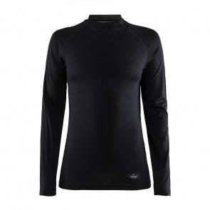 Craft Craft Merino Lightweight Ondershirt met Lange Mouwen voor Vrouwen Zwart 2020