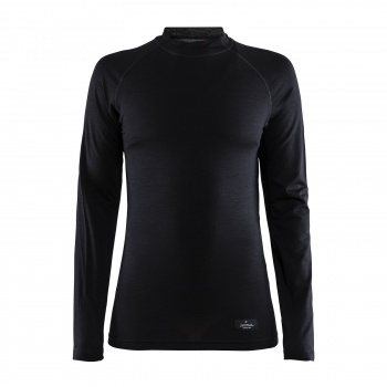 Craft Merino Lightweight Ondershirt met Lange Mouwen voor Vrouwen Zwart 2020