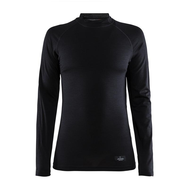 Sous-vêtement Manches Longues Femme Craft Merino Lightweight Noir 2020