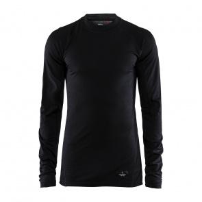 Craft Craft Merino Lightweight Ondershirt met Lange Mouwen Zwart 2020