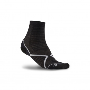 Craft Chaussettes Craft Run Warm Noir/Blanc 2020
