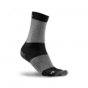 Craft Chaussettes Craft XC Training Noir/Gris 2019-2020