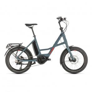 Cube 2021 Vélo Electrique Cube Compact Sport Hybrid 500 Bleu/Rouge 2020 (489160) (389160)
