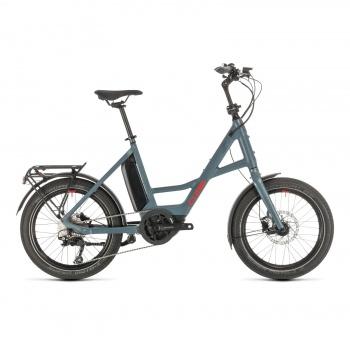 Vélo Electrique Cube Compact Sport Hybrid 500 Bleu/Rouge 2020 (389160)