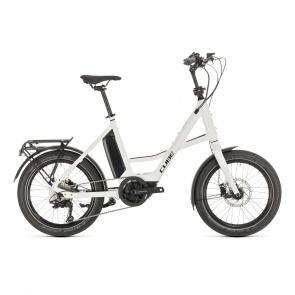 Cube 2021 Vélo Electrique Cube Compact Sport Hybrid 500 Blanc/Noir 2021 (489150) (389150)