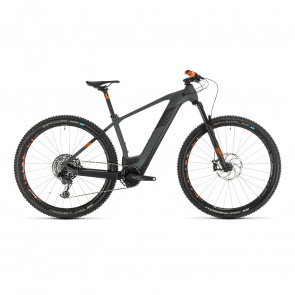 "Cube 2020 VTT Electrique 29"" Cube Elite Hybrid C:62 Race 625 Gris/Orange 2020 (334502)"
