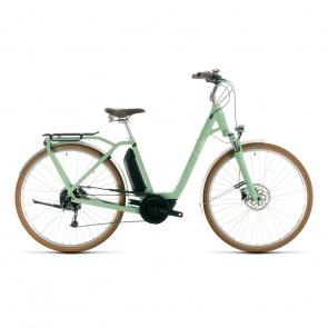 Cube 2020 Vélo Electrique Cube Ella Ride Hybrid 500 Easy Entry Vert/Blanc 2020 (332501)