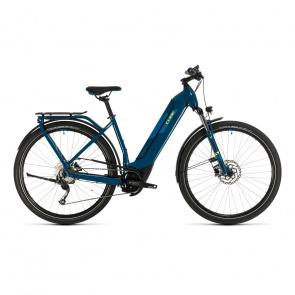 Cube 2020 Vélo Electrique Cube Kathmandu Hybrid One 500 Easy Entry Bleu/Jaune 2020 (331181)