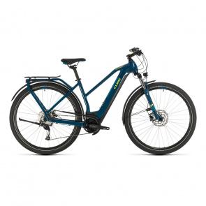 Cube 2020 Vélo Electrique Cube Kathmandu Hybrid One 500 Trapèze Bleu/Jaune 2020 (331181)