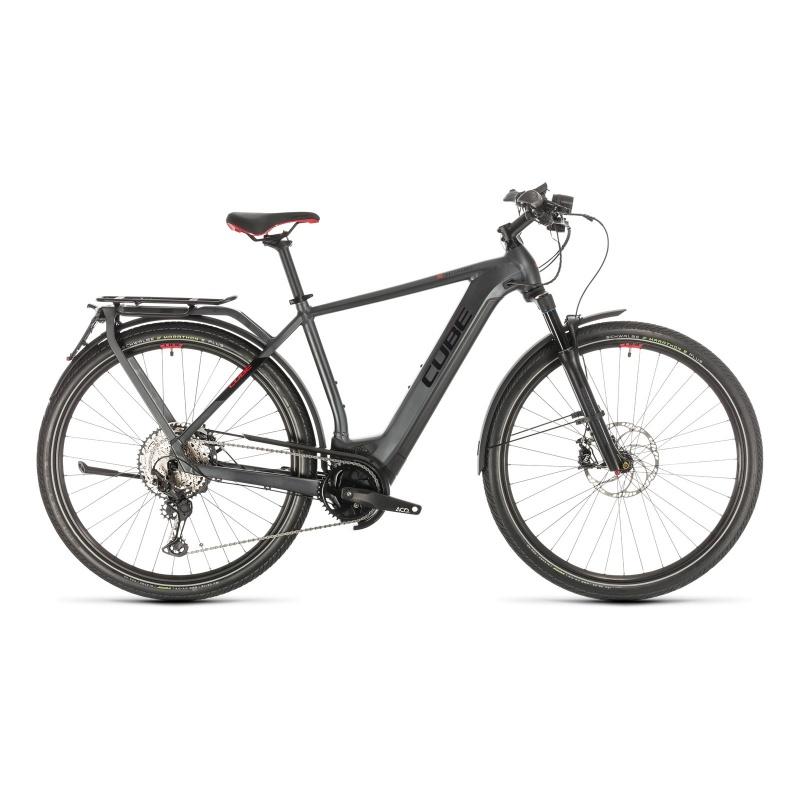Vélo Electrique 45 km/h Cube Kathmandu Hybrid 45 625 Iridium/Rouge 2021 (431402)  (331402)