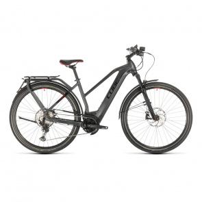 Cube 2021 Vélo Electrique 45 km/h Cube Kathmandu Hybrid 45 625 Trapèze Iridium/Rouge 2021 (431402) (331402)