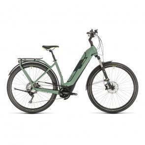 Cube 2020 Vélo Electrique Cube Kathmandu Hybrid EXC 625 Easy Entry Vert/Vert 2020 (331262)