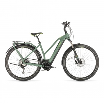 Vélo Electrique Cube Kathmandu Hybrid EXC 500 Trapèze Vert/Vert 2020 (331261)