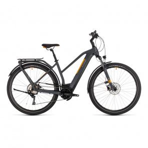 Cube 2020 Vélo Electrique Cube Kathmandu Hybrid Pro 500 Trapèze Gris/Orange 2020 (331211)