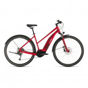 Cube 2020 Cube Nature Hybrid One Allroad 400 Trapezium Elektrische Fiets Rood/Rood 2020 (330110)