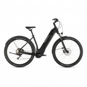 "Cube 2020 Vélo Electrique 29"" Cube Nuride Hybrid Pro Allroad 500 Easy Entry Noir/Gris 2020 (332761)"