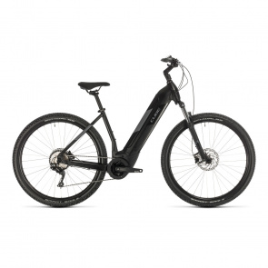 """Cube 2020 Vélo Electrique 29"""" Cube Nuride Hybrid Pro 500 Easy Entry Noir/Gris 2020 (332701)"""