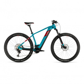 "Cube 2020 VTT Electrique 29"" Cube Reaction Hybrid EXC 625 Petrole/Rouge 2020 (334322)"