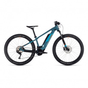 Cube 2020 VTT Electrique 27.5 Enfant Cube Reaction Hybrid Youth 400 Bleu/Orange 2020 (330070)