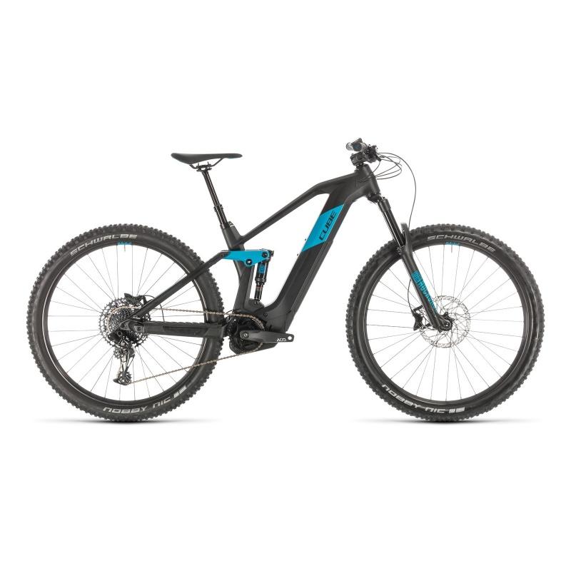 "VTT Electrique 29"" Cube Stereo Hybrid 140 HPC Race 500 Noir/Bleu 2020 (336101)"