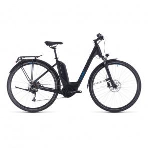 Cube 2020 Vélo Electrique Cube Touring Hybrid One 500 Easy Entry Noir/Bleu 2020 (331051)
