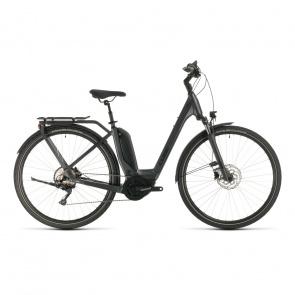 Cube 2020 Vélo Electrique Cube Touring Hybrid Pro 500 Easy Entry Iridium/Noir 2020 (331101)