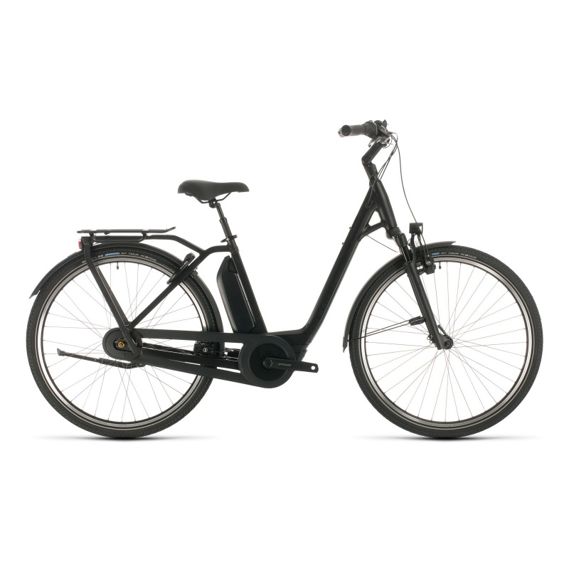 Cube Town Hybrid EXC 500 Easy Entry Elektrische Fiets Black Edition 2020 (332201)