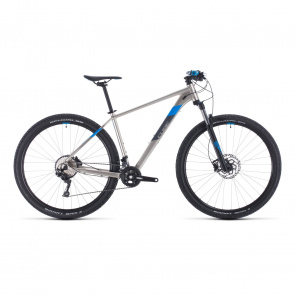 "Cube 2020 VTT 27.5"" Cube Attention Titane/Bleu 2020 (303110)"
