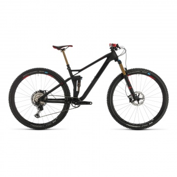 Cube Stereo 120 HPC SLT Carbon/Rood 2020 (353400)