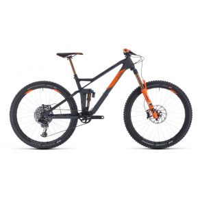 "Cube 2020 VTT 27.5"" Cube Stereo 140 HPC TM Gris/Orange 2020 (354300)"